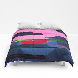 Fractures In Pink Comforters