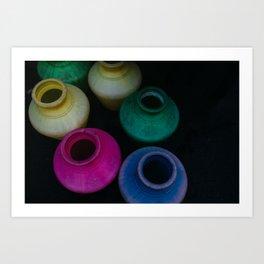 Colors of Water Art Print