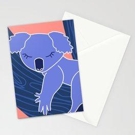 Love Planet Love Animals Koala Sleeping Stationery Cards