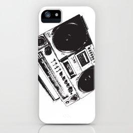 BoomBox! iPhone Case