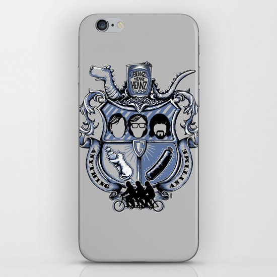 Anything Anytime iPhone & iPod Skin