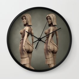 Game Character Series - Kila Wall Clock