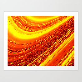 square field on Art Print