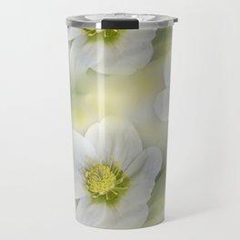 flowers -10- seamless pattern Travel Mug