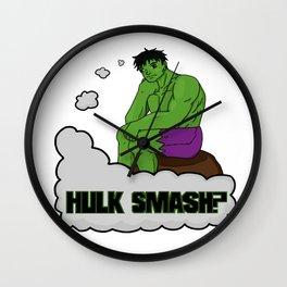 Hulk Smash? Wall Clock