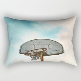 basketball hoop 8 Rectangular Pillow
