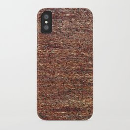 Old golden red grunge background iPhone Case