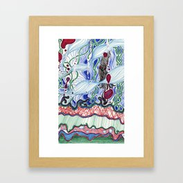 Global Growth Media Pt. II Framed Art Print