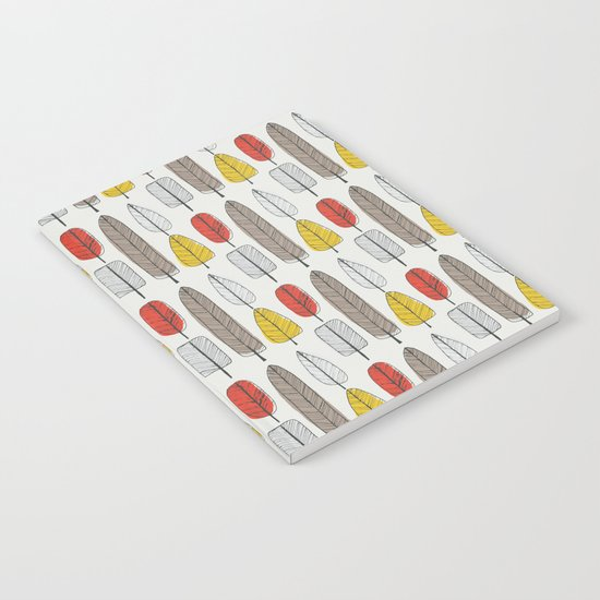 Leaf Pattern Notebook