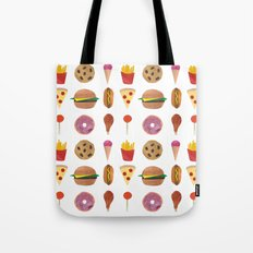 Junk Food Tote Bag