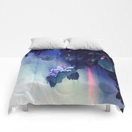 Purple Flower aka Pretty Poison  Comforters