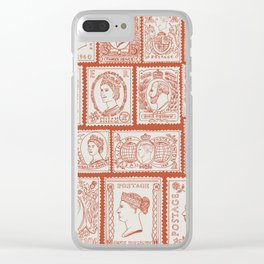 Stamp mania Clear iPhone Case