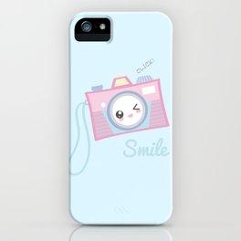 Camera Kawaii iPhone Case