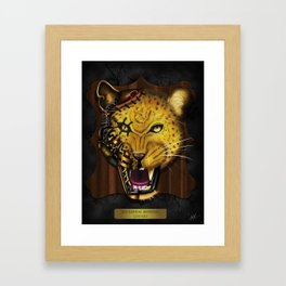 Mechanical Monsters revisited: Leopard  Framed Art Print