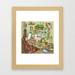 Messy Room Framed Art Print