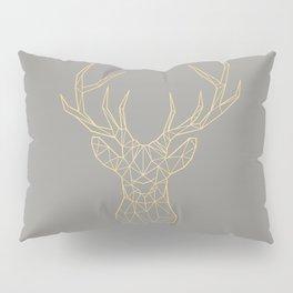 Geometric Deer Pillow Sham