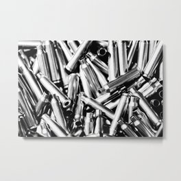 .223 Casings Metal Print