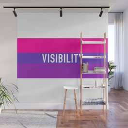 Bisexual Visibility Wall Mural