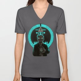 Gravity Falls- Stan Pines Is Not What He Seems Unisex V-Neck