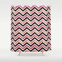 african Shower Curtains featuring African by VanyNany