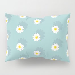 Daisy Pattern Pillow Sham