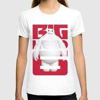 big hero 6 T-shirts featuring Baymax - Big Hero 6 by Nguyen