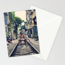 Hanoi Haircut Stationery Cards