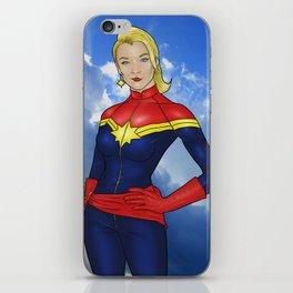 Carol Danvers iPhone Skin