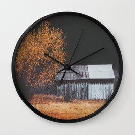 Canyon Barn Wall Clock