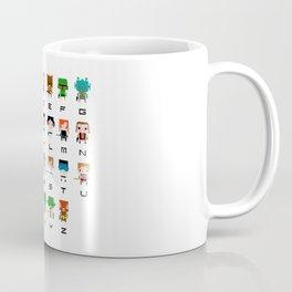 Star Wars Alphabet Coffee Mug