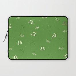 Libra Pattern - Green Laptop Sleeve