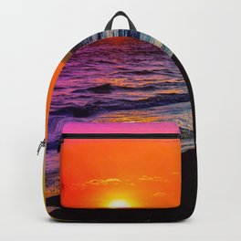 Rainbow Sunset Backpack