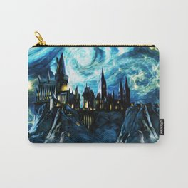 Starry Night Hogwarts Carry-All Pouch