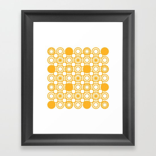 Circle A Framed Art Print