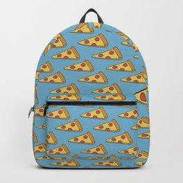 Doodle Pizza Lover Pattern Backpack