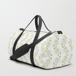 Background abstract flowers, pattern, vector, texture design. Duffle Bag