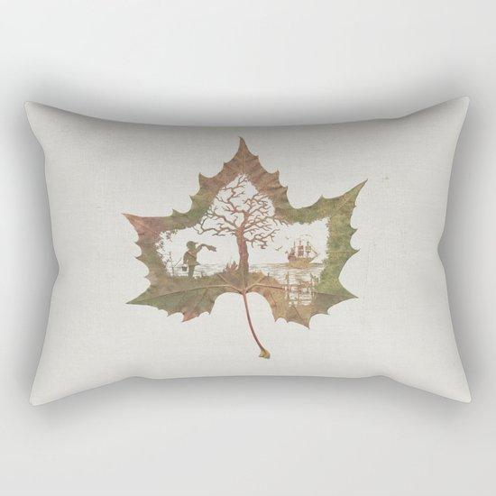 A Fall Story Rectangular Pillow
