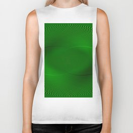 Not easy being Green Biker Tank