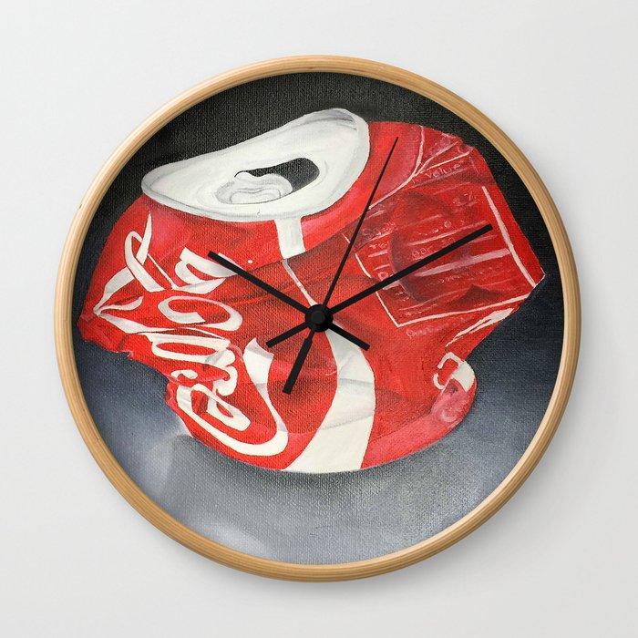 Coca-Cola Can Wall Clock