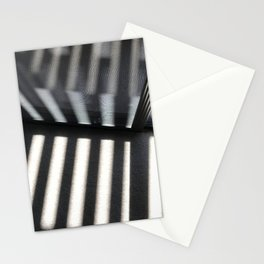 Late Afternoon Shadows Dancing Across Piano Keys Stationery Cards