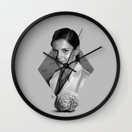 The girl who counted Wall Clock