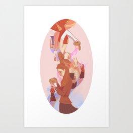 Home Love Family Art Print