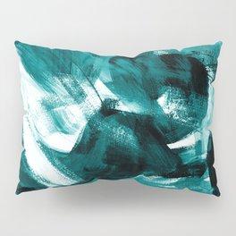 Abstract Artwork Petrol #1 Pillow Sham