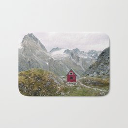 Mint Hut Bath Mat