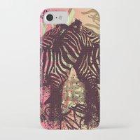 zebra iPhone & iPod Cases featuring ZEBRA by Nechifor Ionut