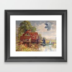 Friday Afternoon Framed Art Print
