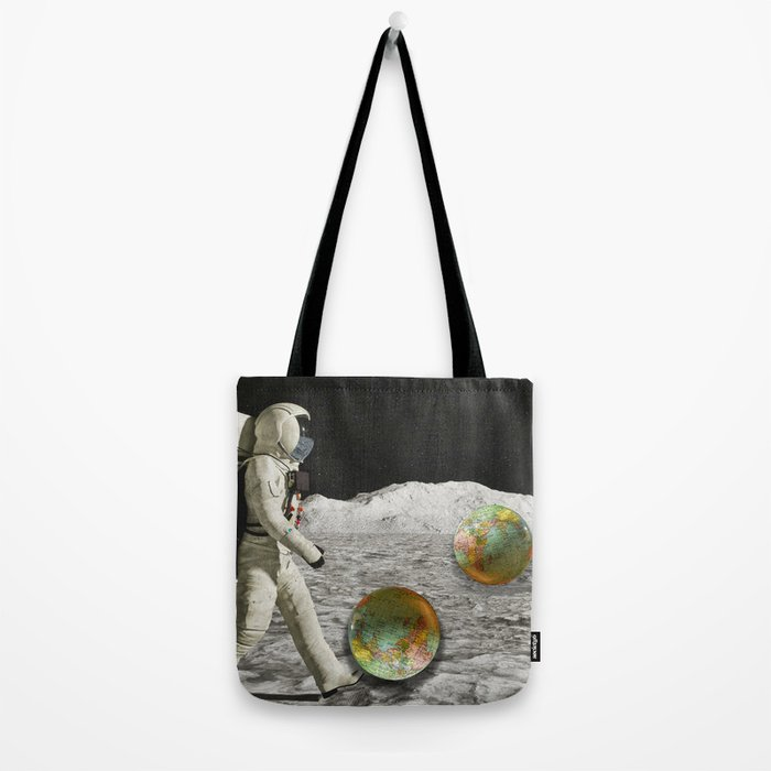 Moon Shot #collage Tote Bag