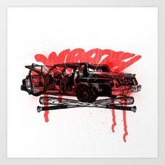 Wrath! Art Print
