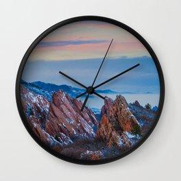 Roxborough Park Wall Clock