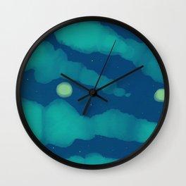Stars or Fireflies - Fireflies 2 Wall Clock